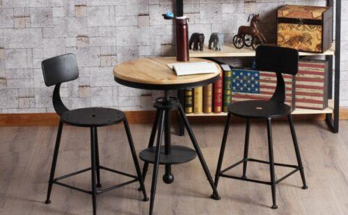 Кованые стулья в стиле лофт